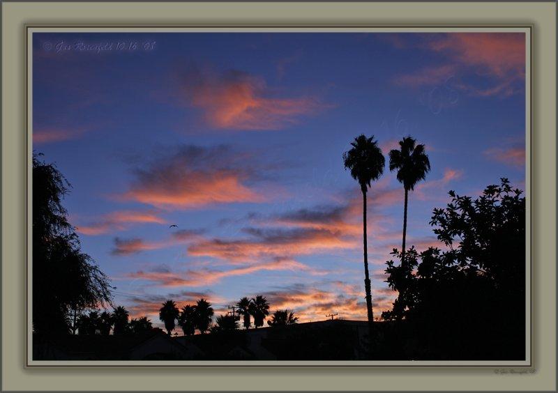 Sunrise Comes To Santa Monica