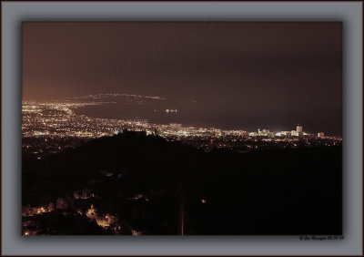 Not The Darkest Hour - But, Just Before Dawn ~ Santa Monica Bay