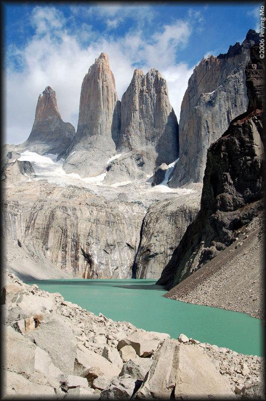 Las Torres - height ranging between 2243m - 2850m