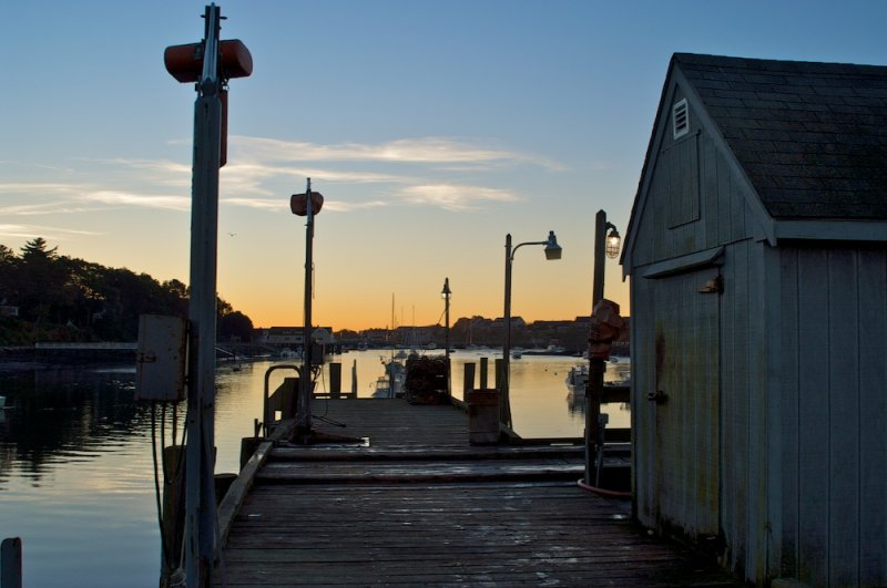 On the Town Dock