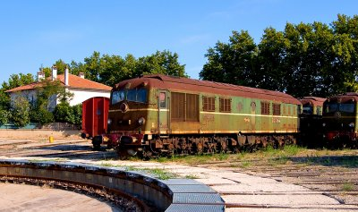 Some old CC65500 preserved at Miramas depot (between Marseille and Avignon).