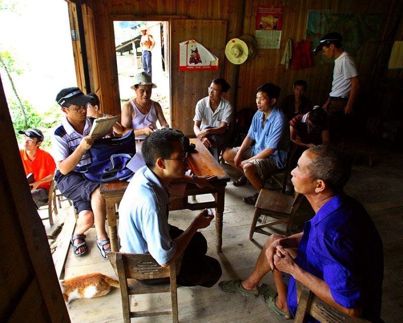 1764 Interview of a Caiyuan Village member.