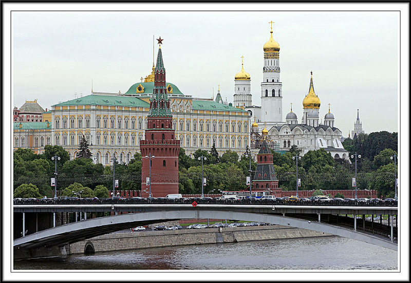 Kremlin and Moscow River