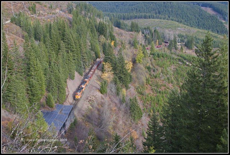 Test Train @ Tunnel 4
