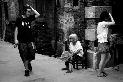 Preeners, Shanghai, China, 2006