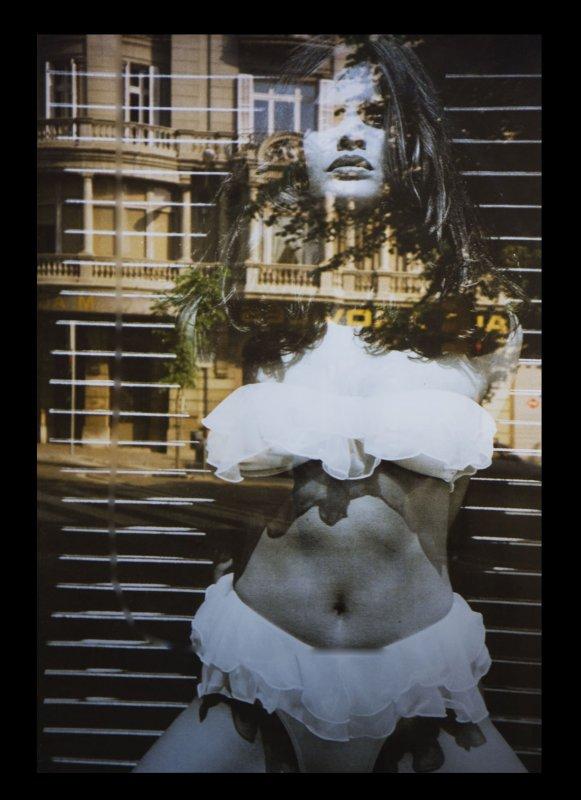 Barcelona Reflection Girl.