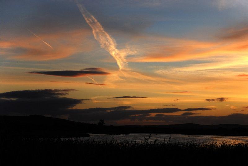 Sky before dusk