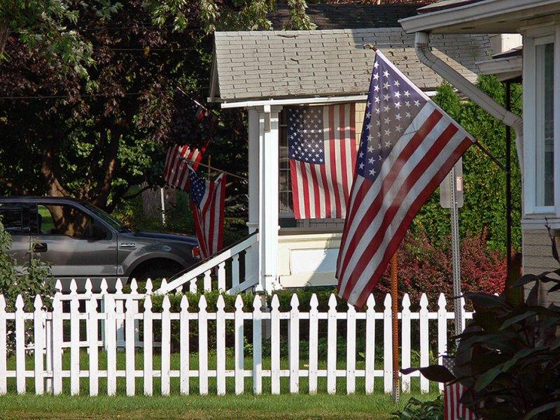 American Dream White Picket Fence Etc Photo Panasonic Lumix