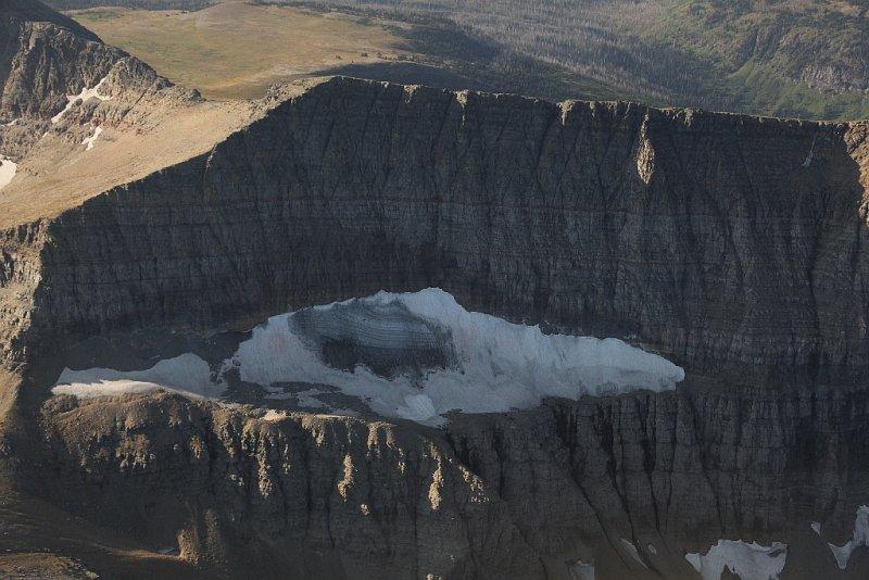 Unnamed Glacier Fragment, Cathedral Pk N/NW Face <br> (GlacierNP090109-_322.jpg)