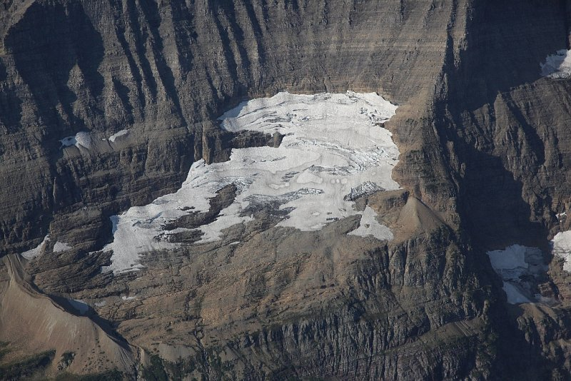 Unnamed Glacier, Mt Merritt E Face <br> (GlacierNP090109-_342.jpg)