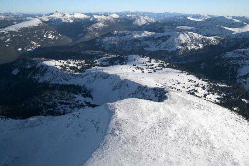 Sheep Mt & Pasayten Wilderness, View SE <br> (SheepMt012208-_223.jpg)