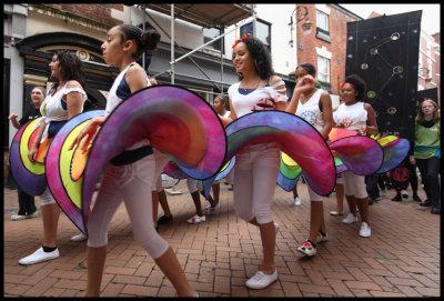 Salsa procession - Los Ninos Con Ritmo (Children With Rhythm)