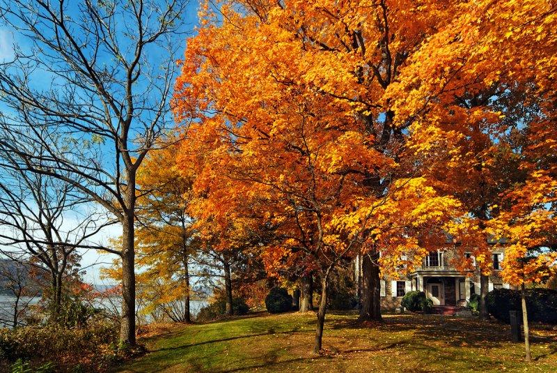 Fall at Fort Hunter Pennsylvania