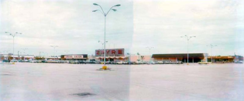1975 - Zayre, Grand Union and shopping center at 13507 S. Federal (Dixie) Highway