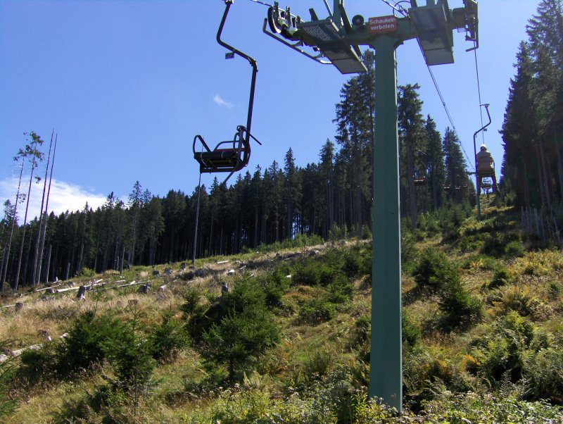 On Nesselwang chairlift