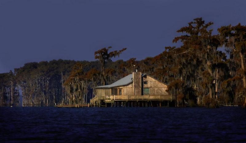 November Morning on Lake Verret