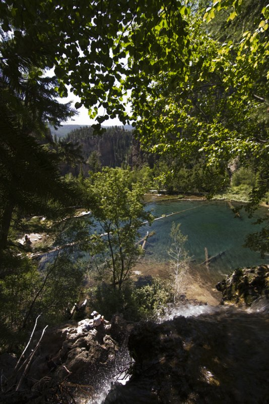 Hanging Lake From Above