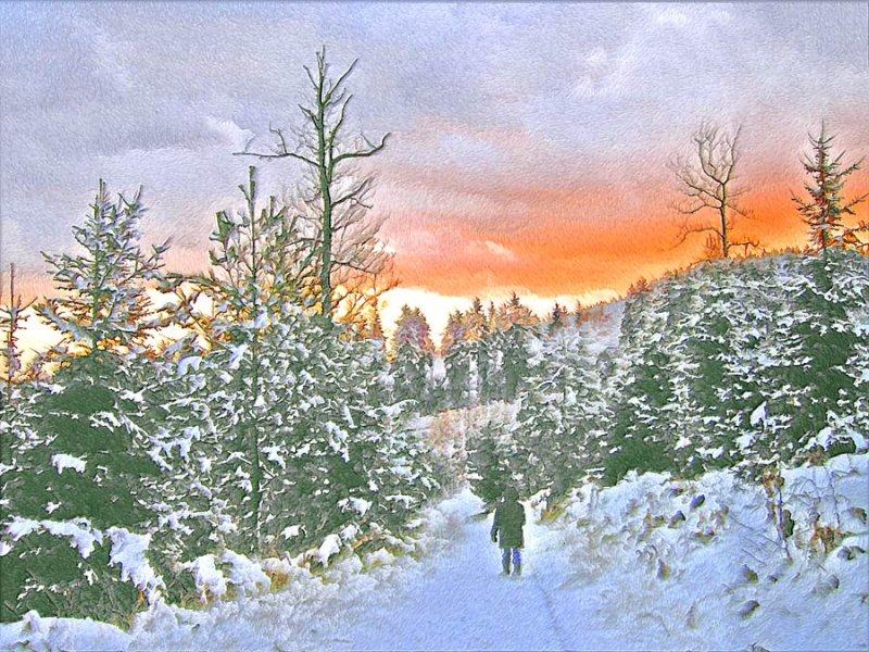 AFTER:  Stillness At Twilight