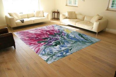 My thistle rug