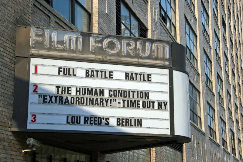 Film Forum near Varick Street
