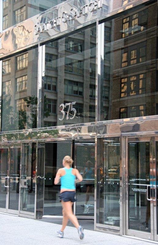 Saatchi & Saatchi Lobby with Reflections