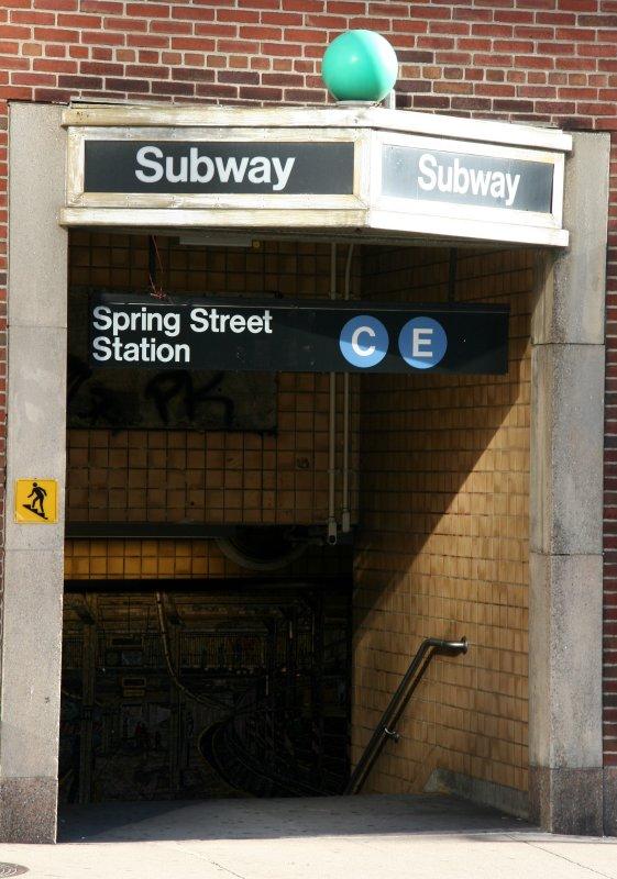 Spring Street Subway