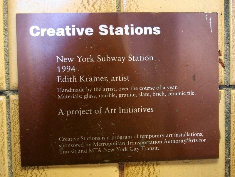 Spring Street Subway Marker