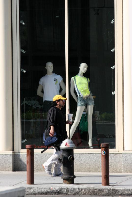 Apparel Store Window