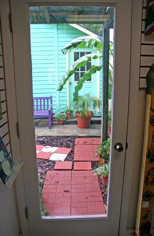Art Gallery Garden Door