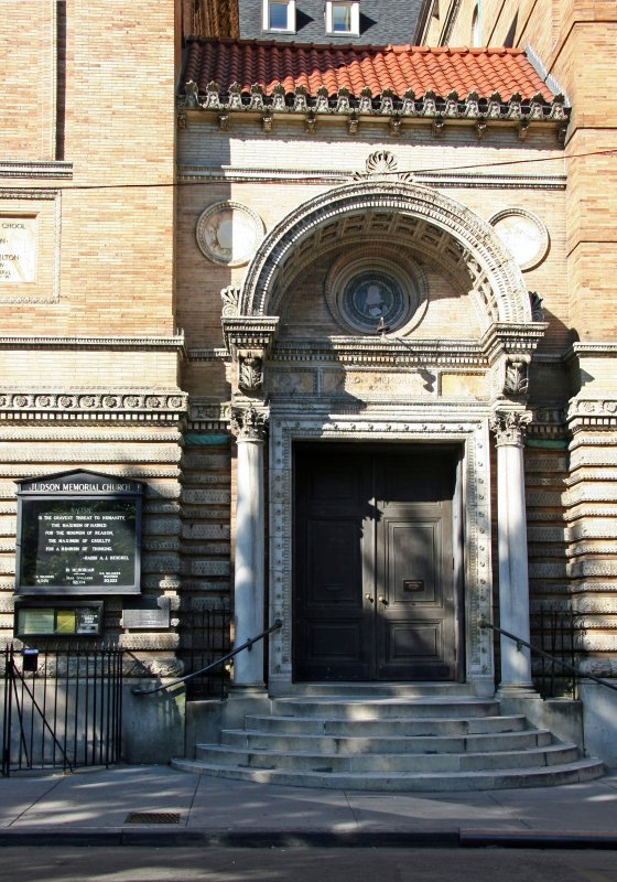 Judson Memorial Church Entrance