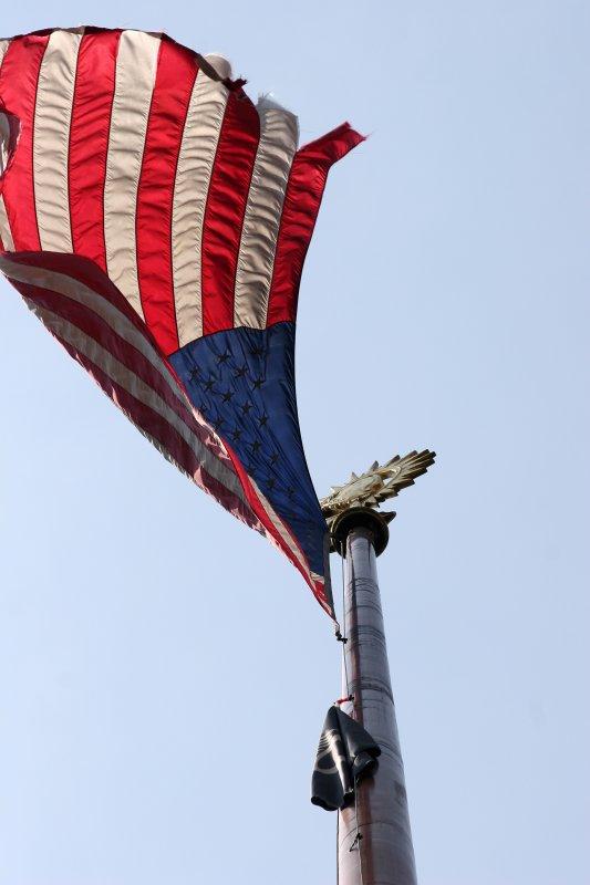 Under the Flag Pole