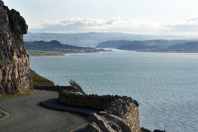 Conway from the Great Orme