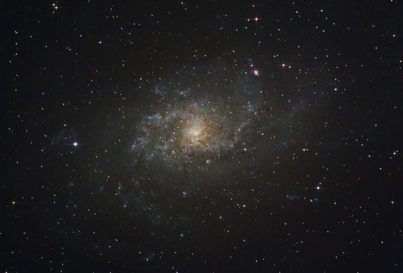 The Triangulum Galaxy Messier 33 (NGC 598)
