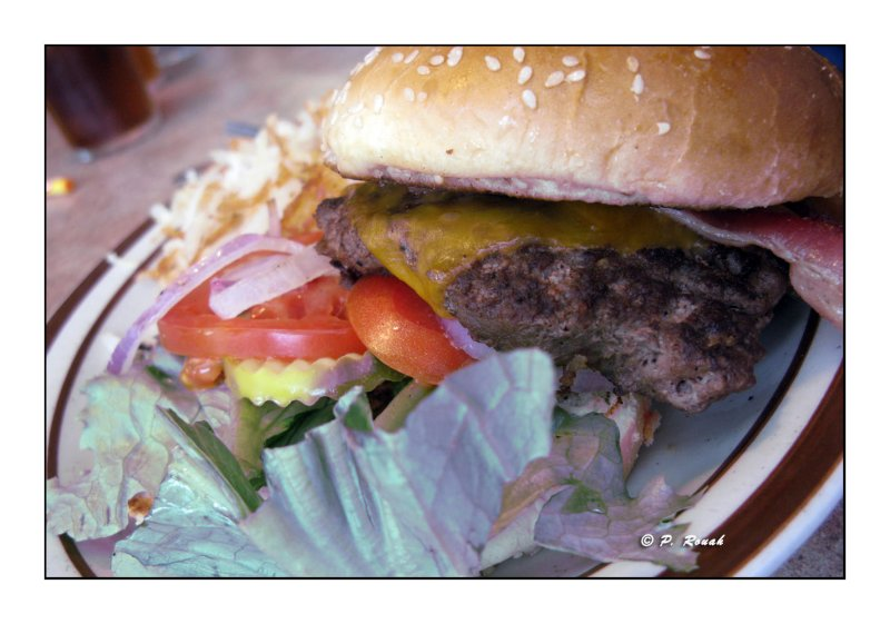 Bacon Chedar Hambuger for you - 3251