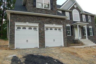 The Garage doors arrive