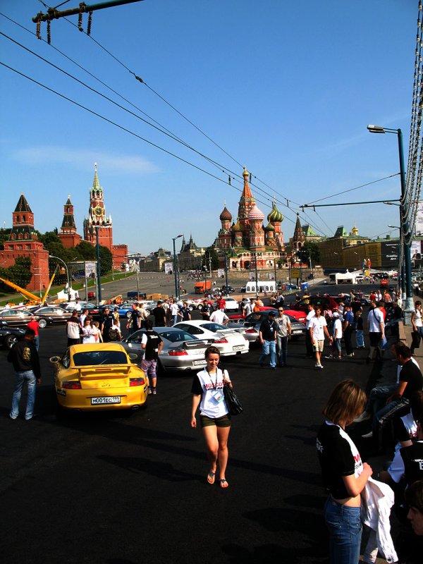 Moscow Porsche Club Display