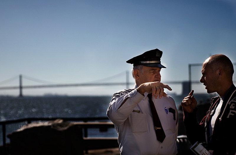 San Francisco - The last Alcatraz prison guard - Lultima guardia ad Alcatraz