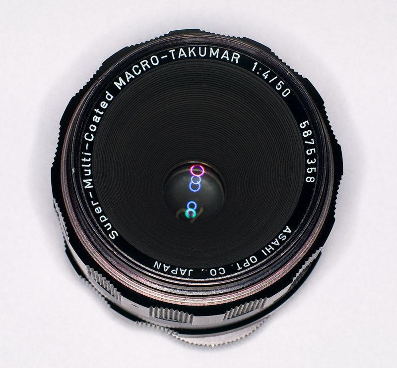 Super-Multi-Coated Macro-Takumar 50mm f4