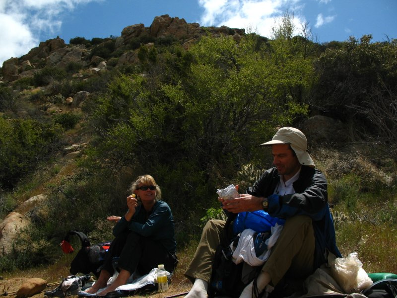 lunch in the sandy wash.jpg
