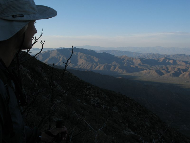 sue and the view from pioneer mail trail.jpg