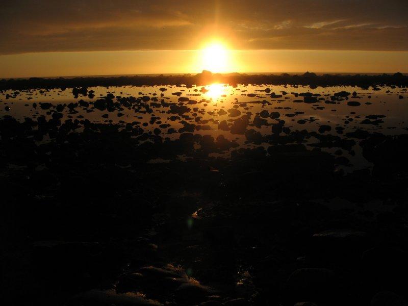 sunset near yellow banks.jpg