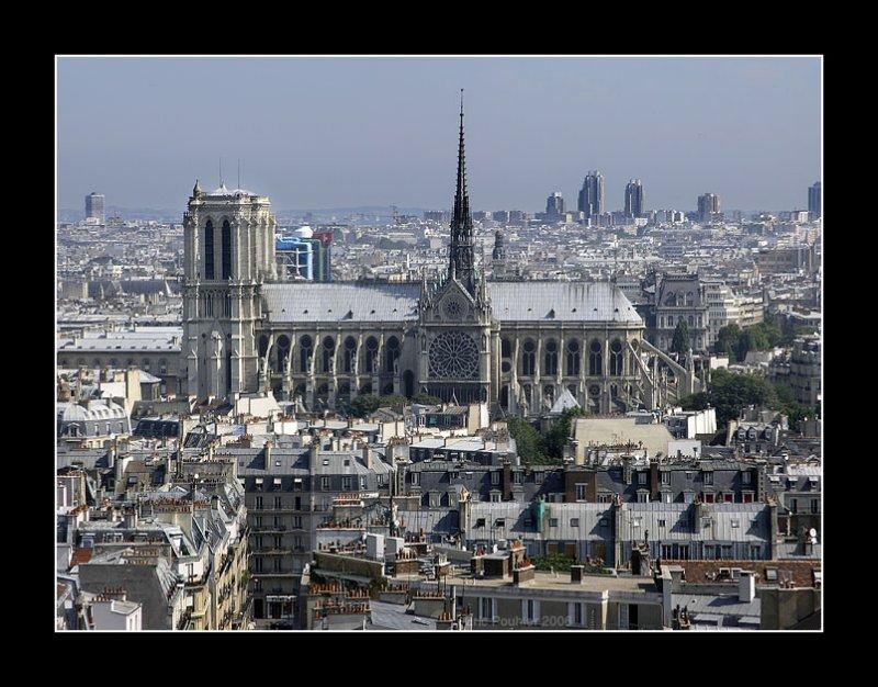 Notre Dame and Beaubourg - Paris