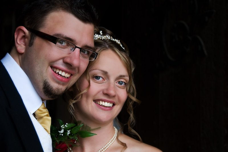 My nephew and his lovely bride (2131)