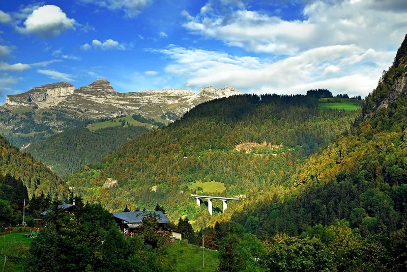 On the way back to Aigle (2)