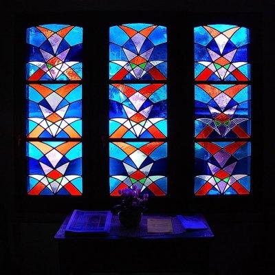 Chapel window, Les Diablerets