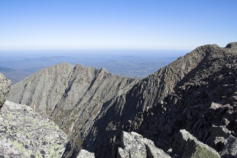 Looking across to the Knife Edge and Panola