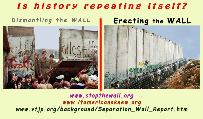the WALL - (09/11/09 : Which anniversary)? - Double Standards!