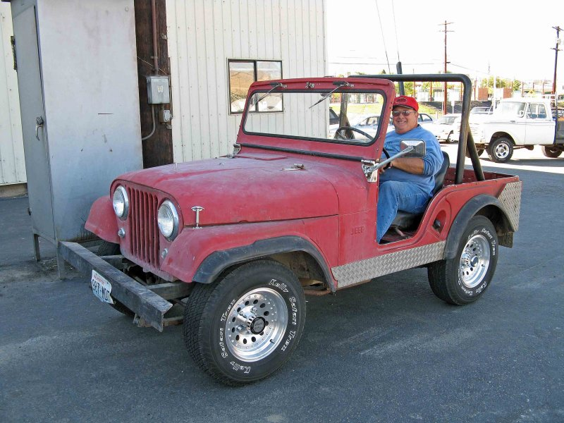Randy Arnold And His  Sweet  1963 Jeep CJ-5