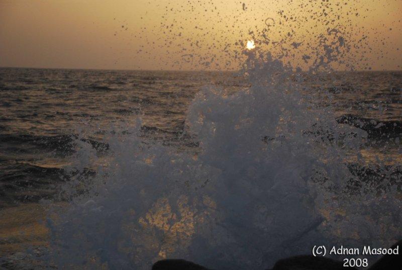 19-Sun waves and sea.JPG