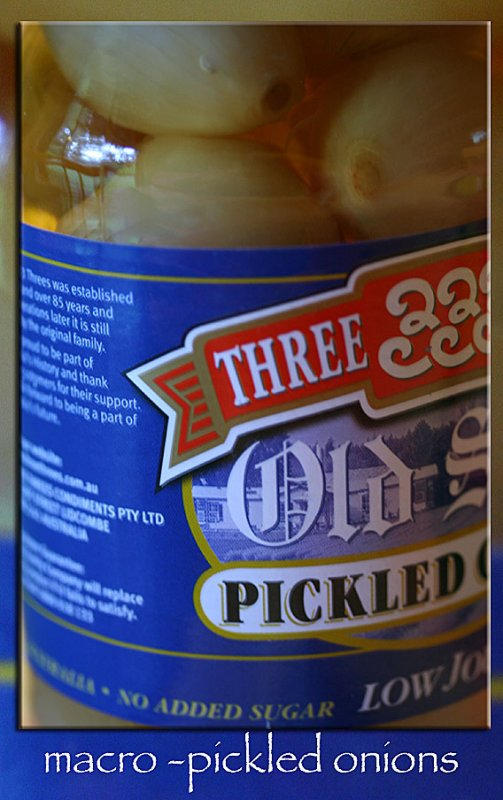answer to #11 ~ pickled onions